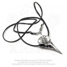 Alchemy Gothic Ravenskull Halskette - groß