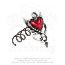 Alchemy Gothic Devil Heart Haarschraube
