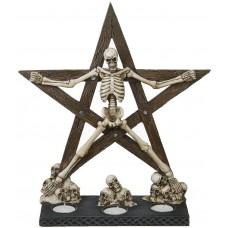 Skelett Pentagramm