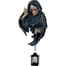 Reaper mit Laterne (Wandhänger)