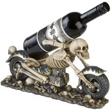 Motorrad Skelett Flaschenhalter