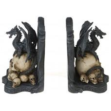 Drachen Buchstützen (Paar)